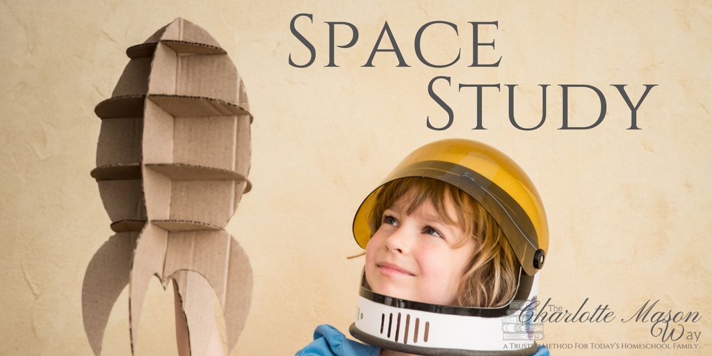 Space Study - Book list, activities and more around everything space. | www.thecharlottemasonway.com